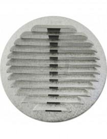 GRIGLIA TONDA IN METALLO CON MOLLE E RETE D.80-140 INOX