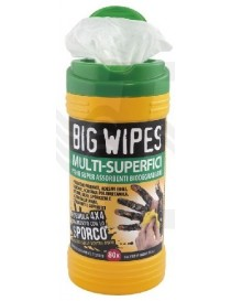 "SALVIETTE LAVAMANI PZ.80 ""BIG WIPES"" VER"
