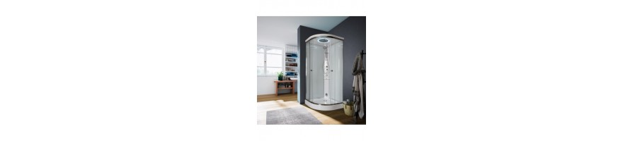 Shower Enclosure, Equipped Shower Walls, Hydro Cabins